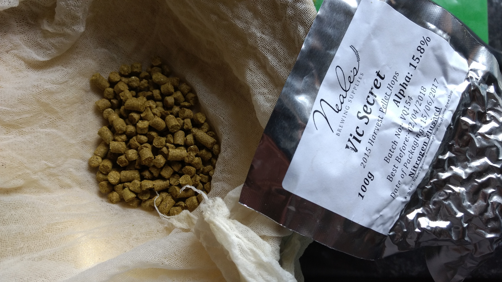 Vic Secret Hop Pellets